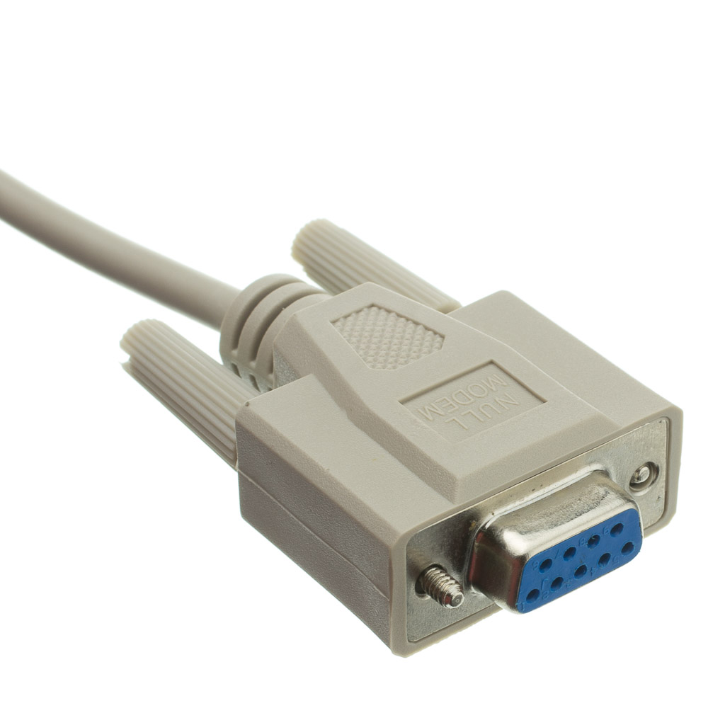 ... Null Modem Cable 6ft (Old Pinout), UL, DB9 Male / DB9 Female ...