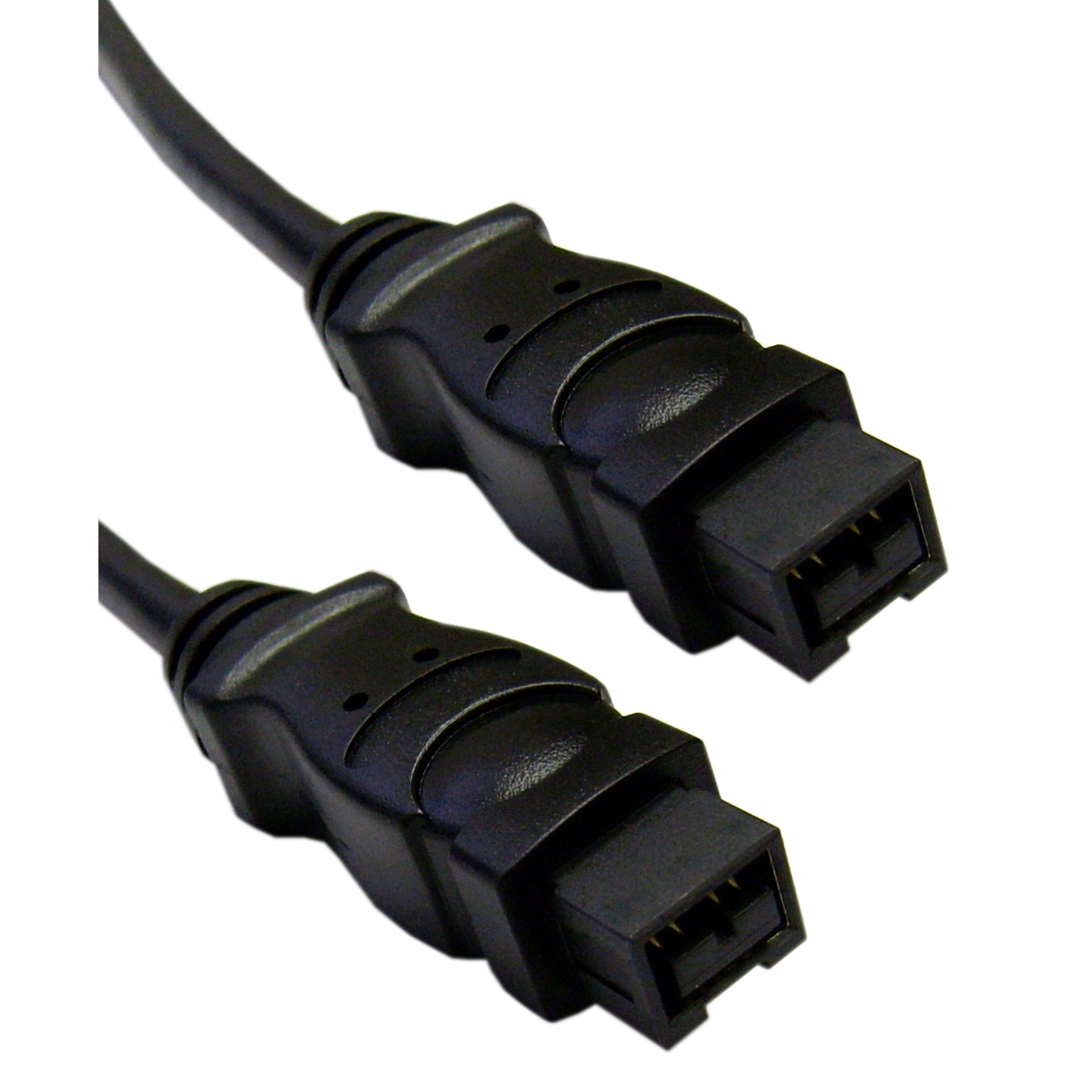 3ft FireWire 800 (IEEE-1394b) 9 Pin to 9 Pin Cable - Black
