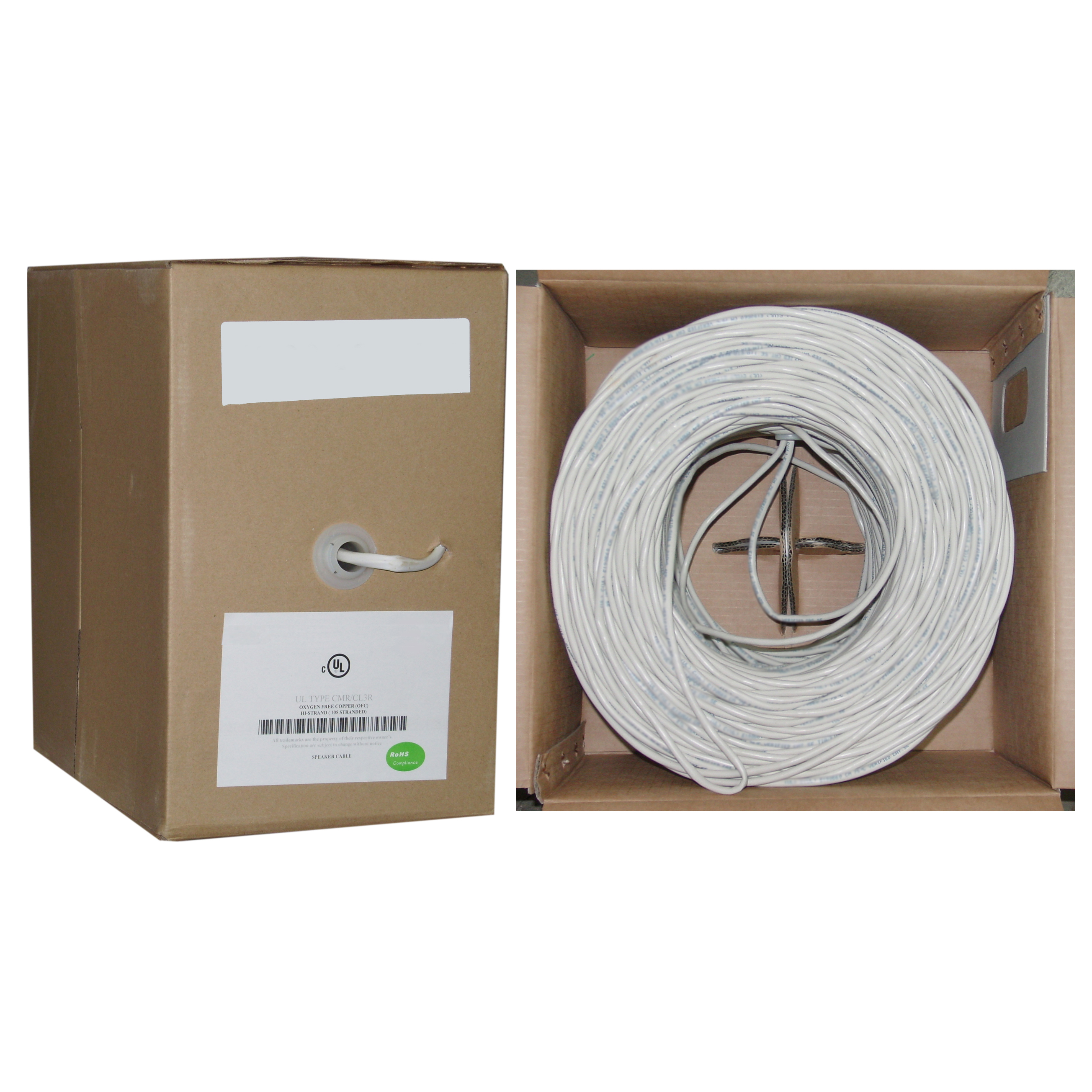 Serial And Parallel Speaker Wiring Electrical Diagram Commercial Cable White Pure Copper Cm Inwall Rated 14 2