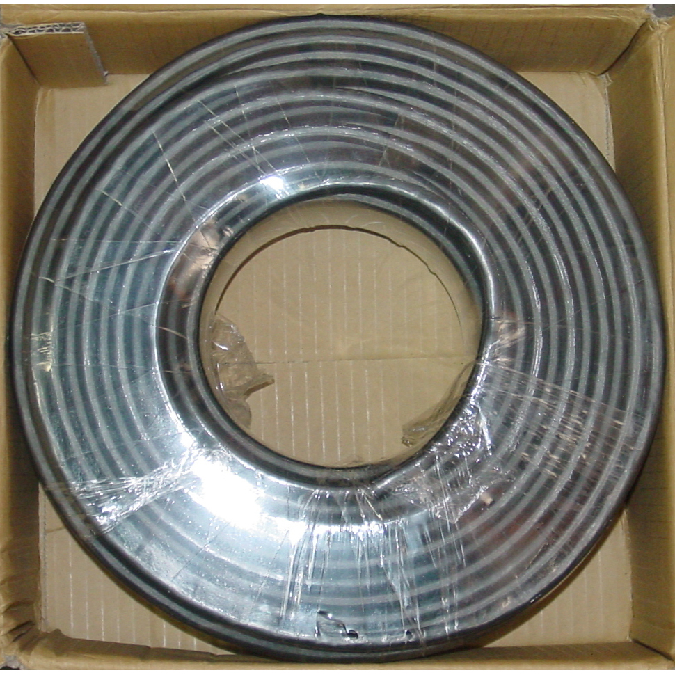 Coaxial Cable Construction : Meter bulk svga cable roll