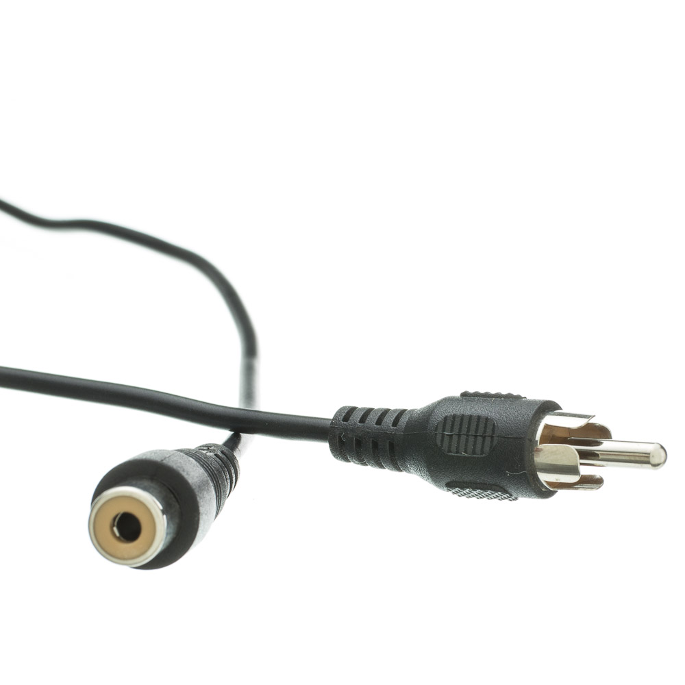 25ft Rca Audio Video Extension Cable Male To Female 25 Mono Jack Wiring Foot