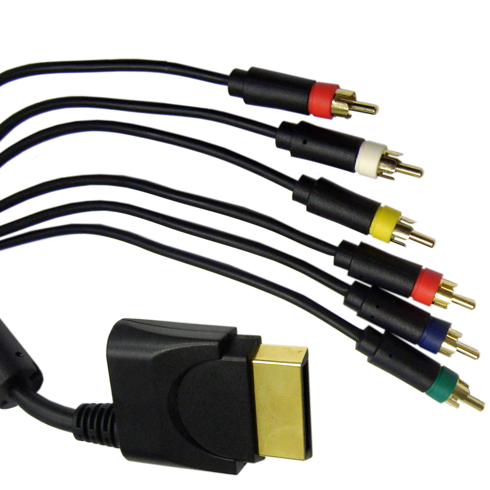 Xbox 360 High Definition Component/Composite A/V Cable, 3 RCA Male (