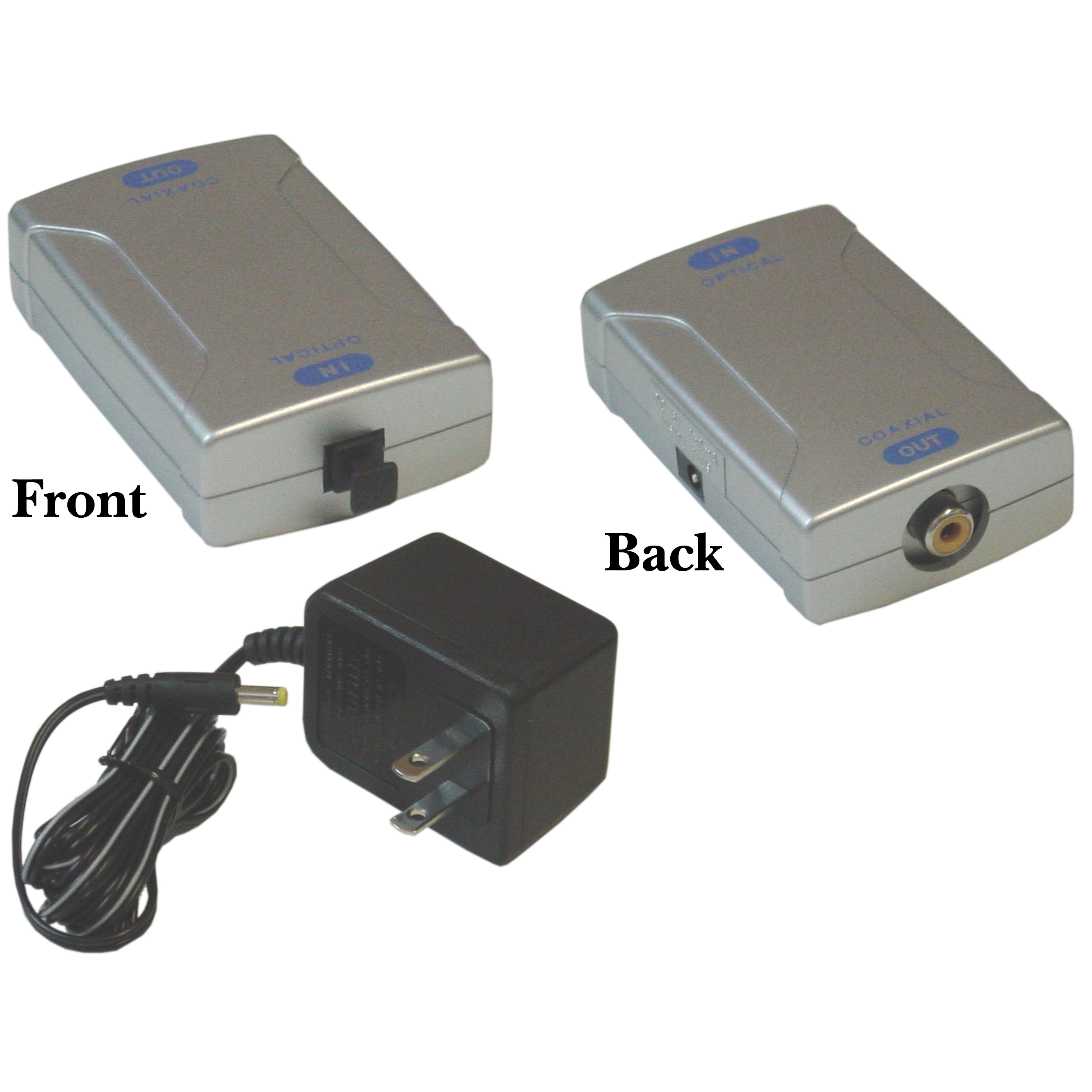 Optical Toslink To Digital Coax Converter