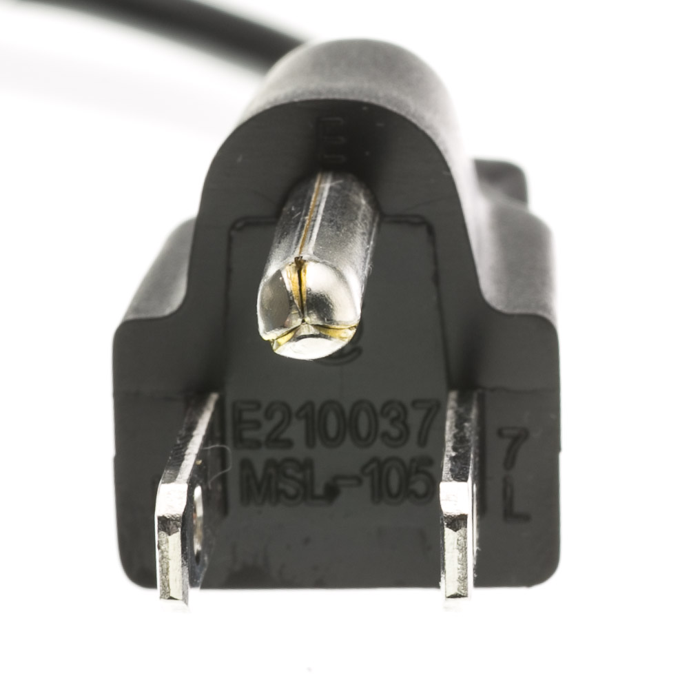 Computer Monitor Power Cord Nema 5 15p To C13 10a 25ft