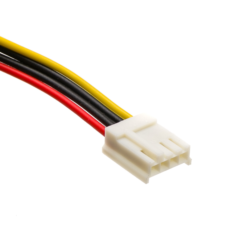 6 Inch 4 Pin Molex To Floppy Power Cable
