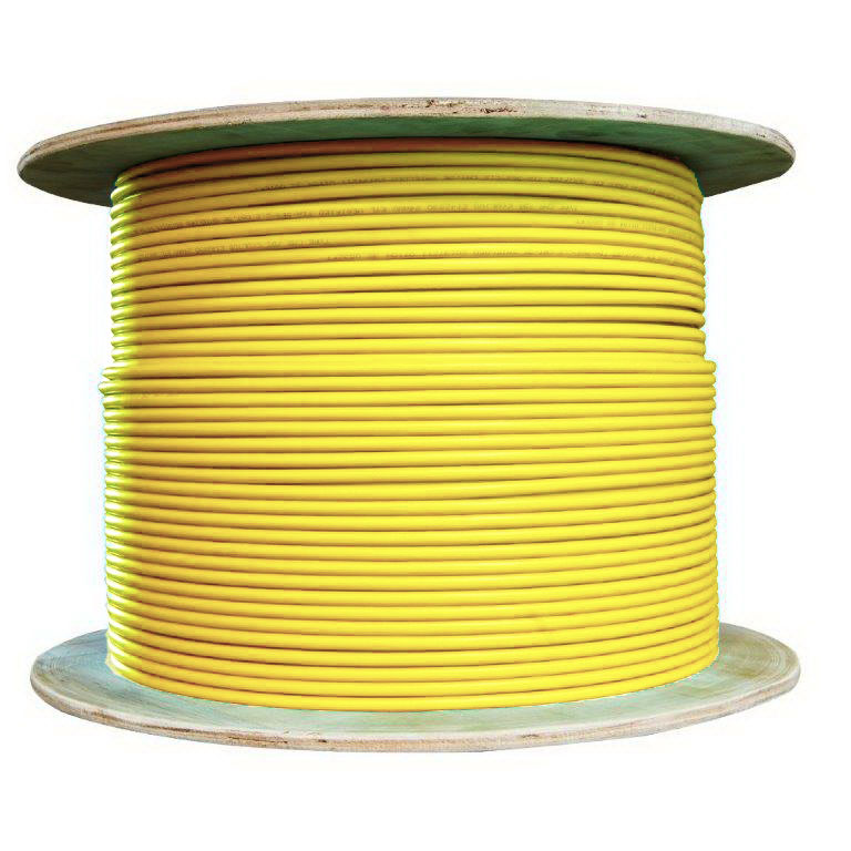 Cat6a Yellow Ethernet Patch Cable 10 Foot Color:Yellow Sonovin Snagless//Molded Boot 500 MHz