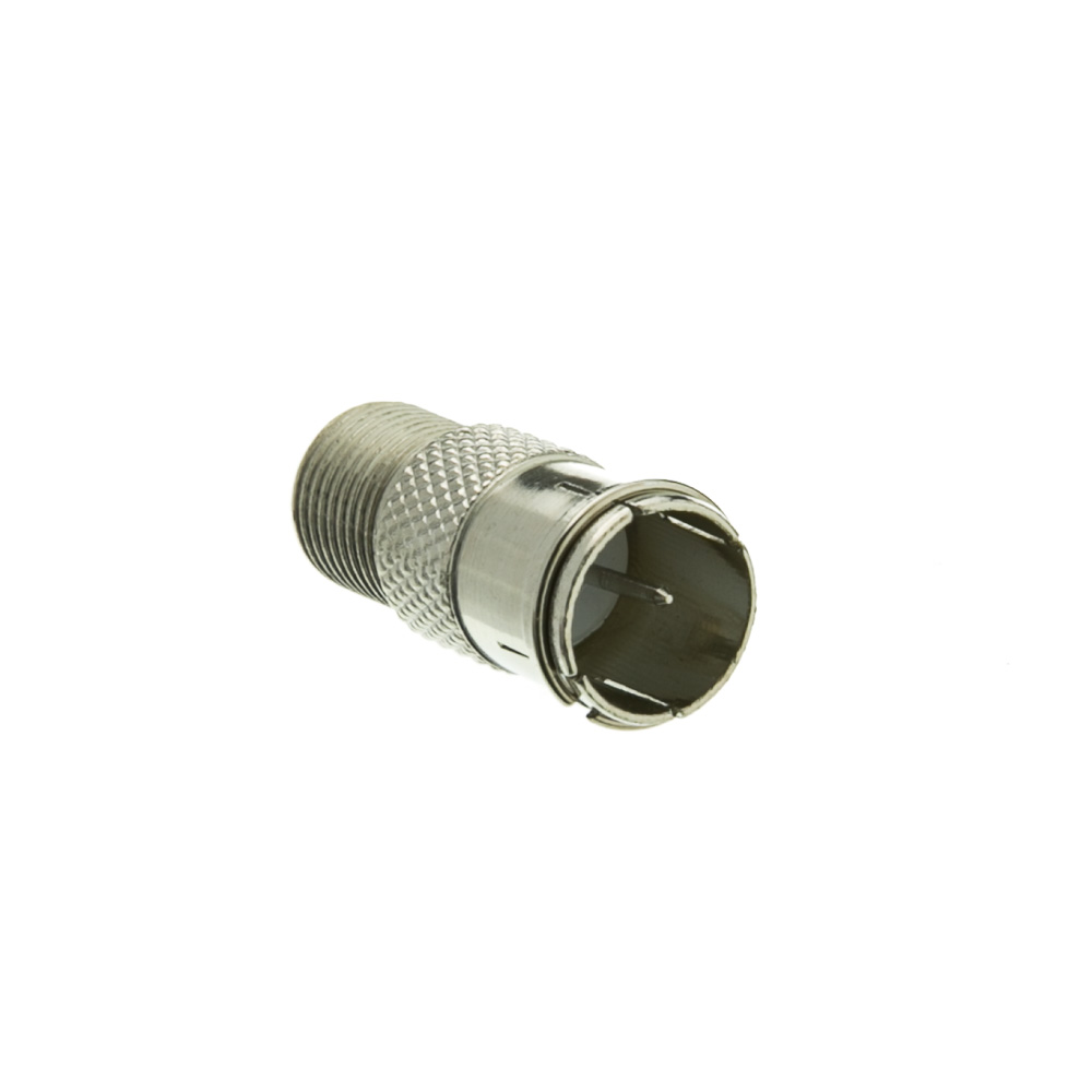 Coaxial Quick Connect Adapter Female To Male F Coax Vga Wiring Diagram Pin Threaded