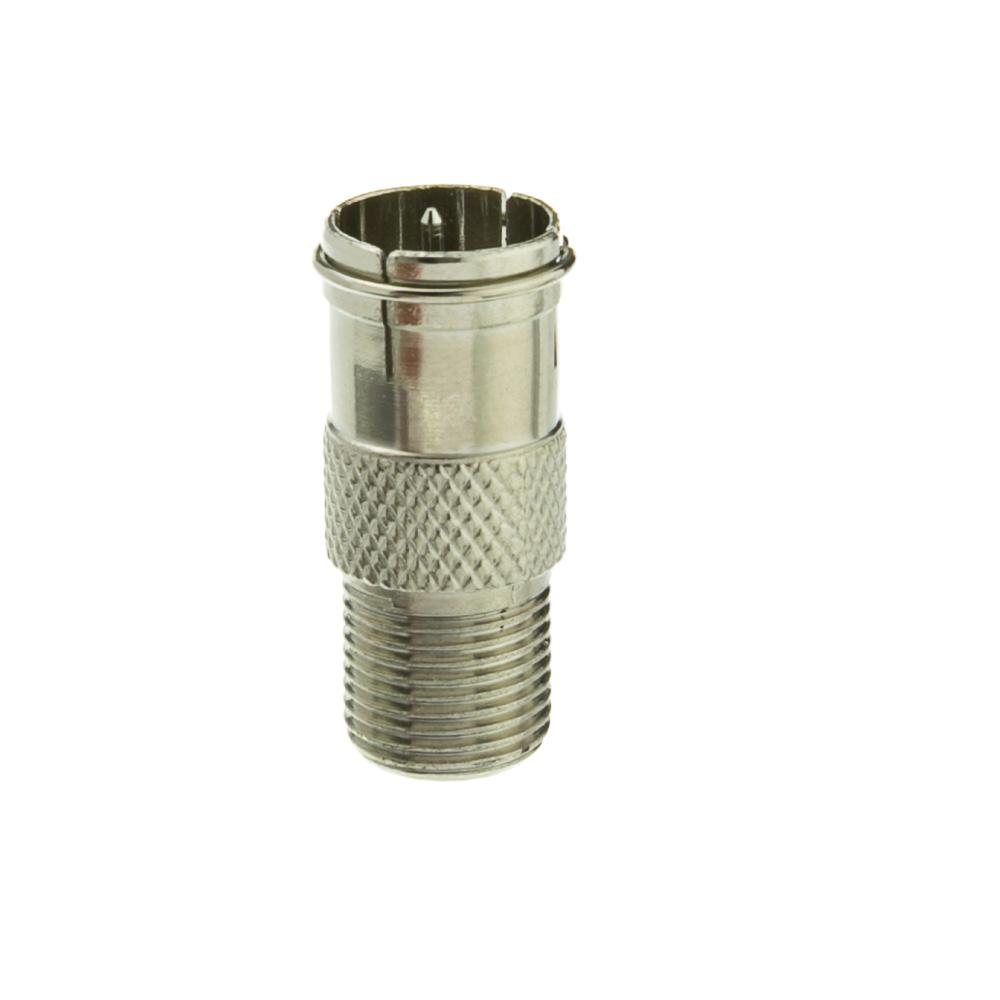 F Pin Coax Quick Connect Adapter F Pin Female Quick Male