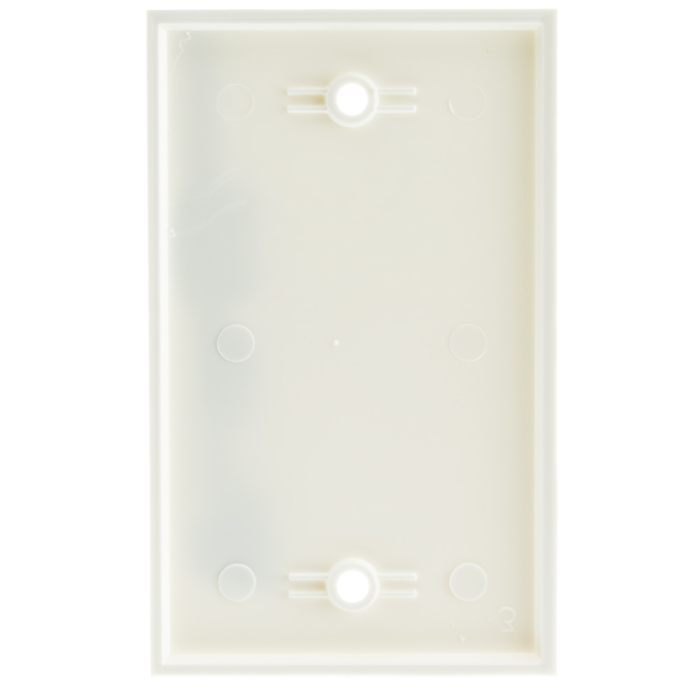 White Blank Wall Plate Cover Plate