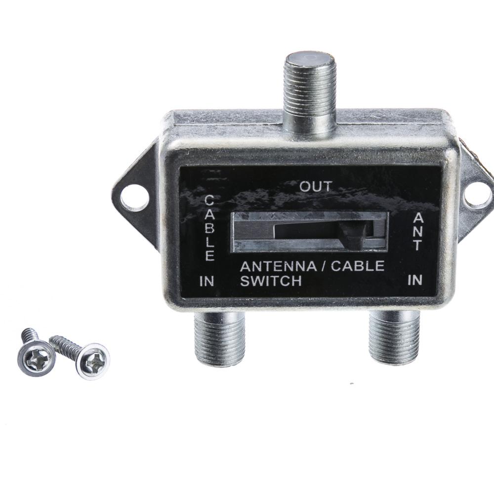 f pin coaxial slide switch 2 way 75 75 75 ohm