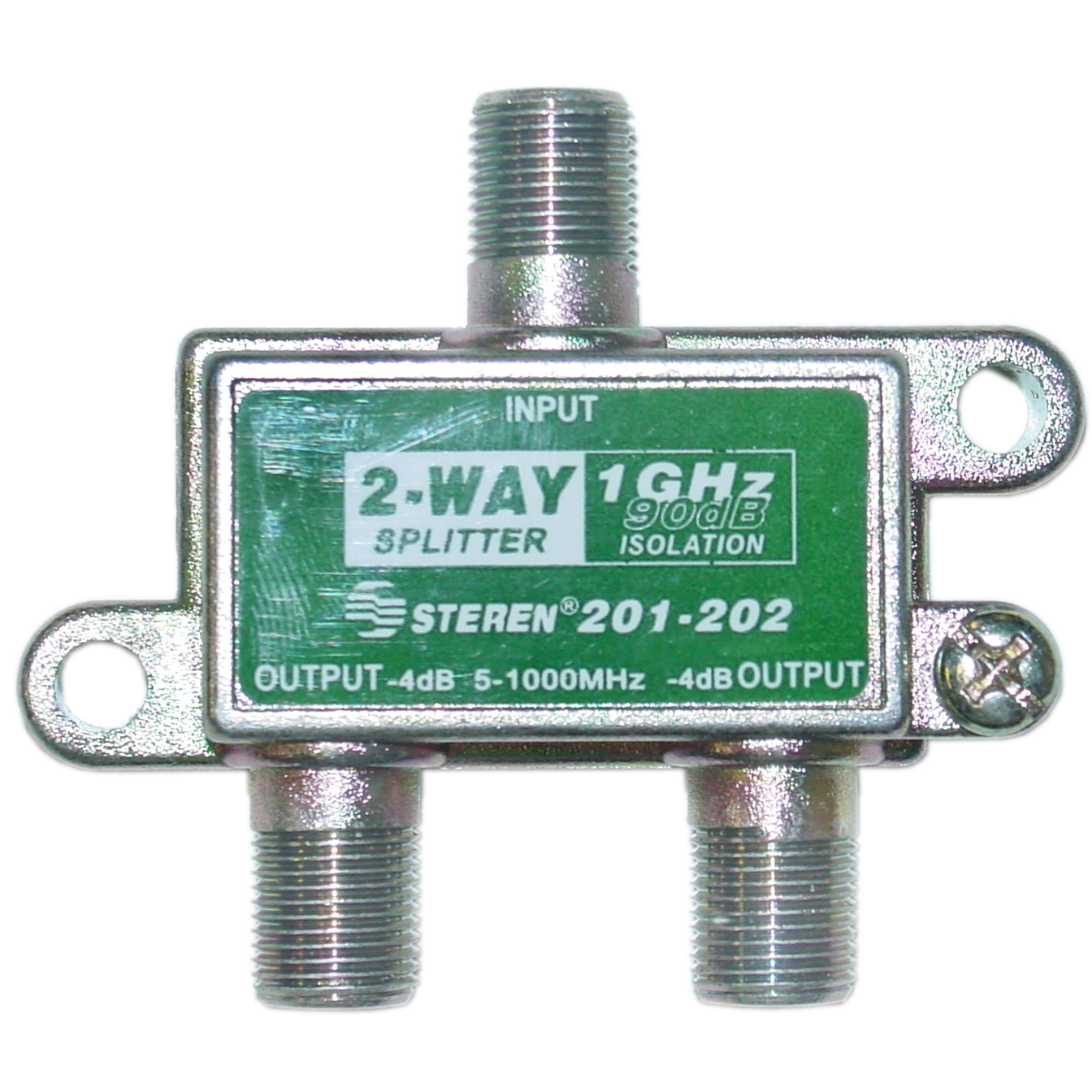 2 Way Coaxial Splitter 1 Ghz 90db