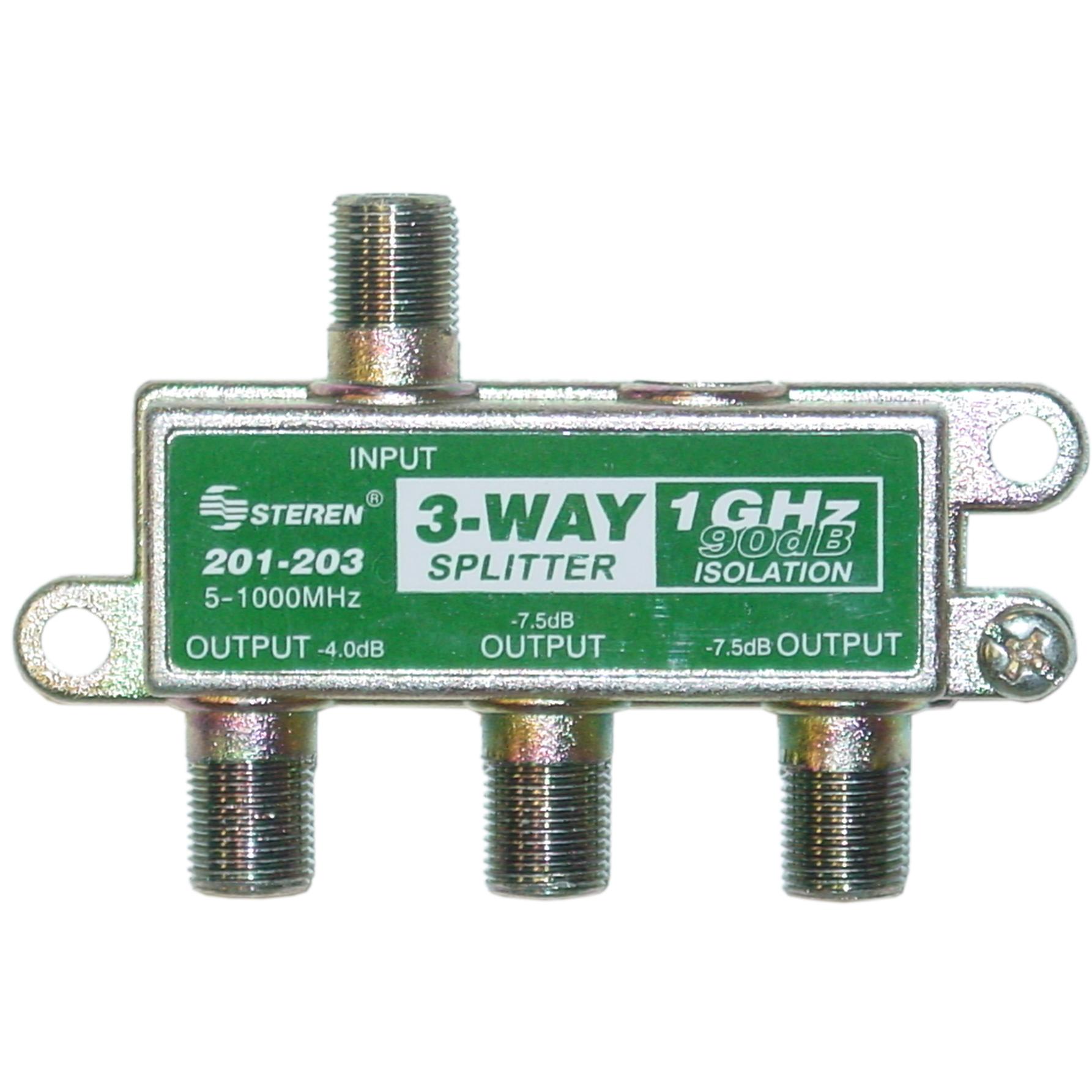 Digital Cable Splitter : Way coaxial splitter ghz db
