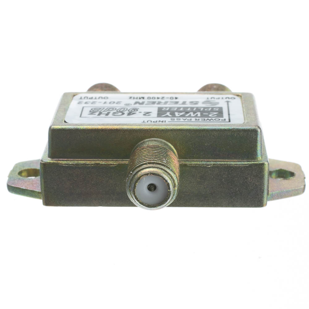 2 Way Coaxial Splitter 2 Ghz 90db 1 Dc Passing
