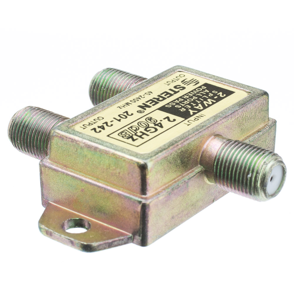 Coaxial Cable Splitter : Way coaxial splitter ghz db dc passing on both