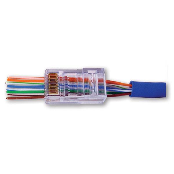 ez rj45 cat6 crimp plugs 100 pieces rh cablewholesale com Cat 6 RJ45 Wiring-Diagram RJ45 Wiring Diagram PDF