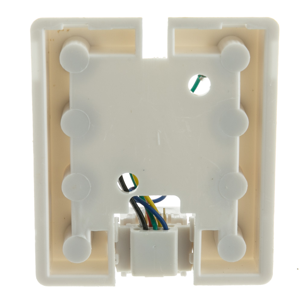 Rj11 6p6c Wiring Diagram 24 Images Data Phone Jack 300 66ff Wh 03 White Surface Mount Rj12 Voice