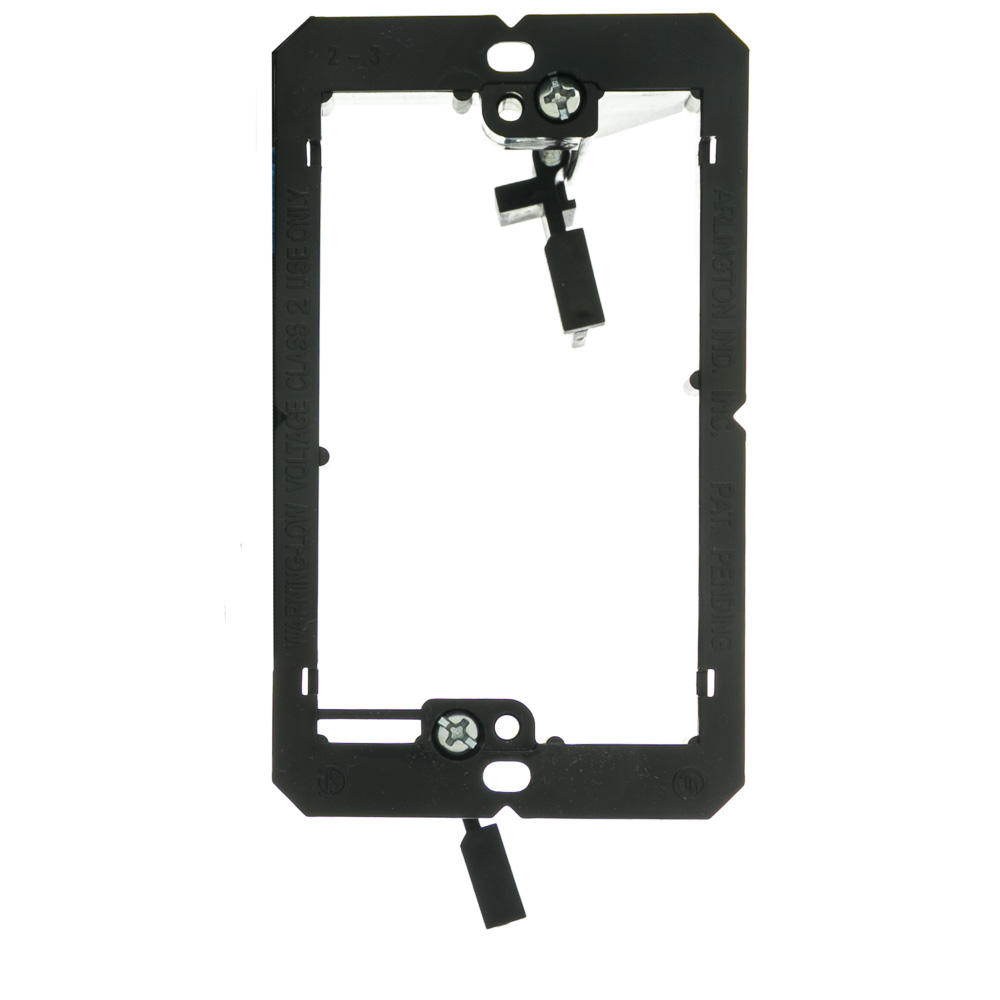Low Voltage Wall Mounting : Single gang mounting bracket low voltage cablewholesale