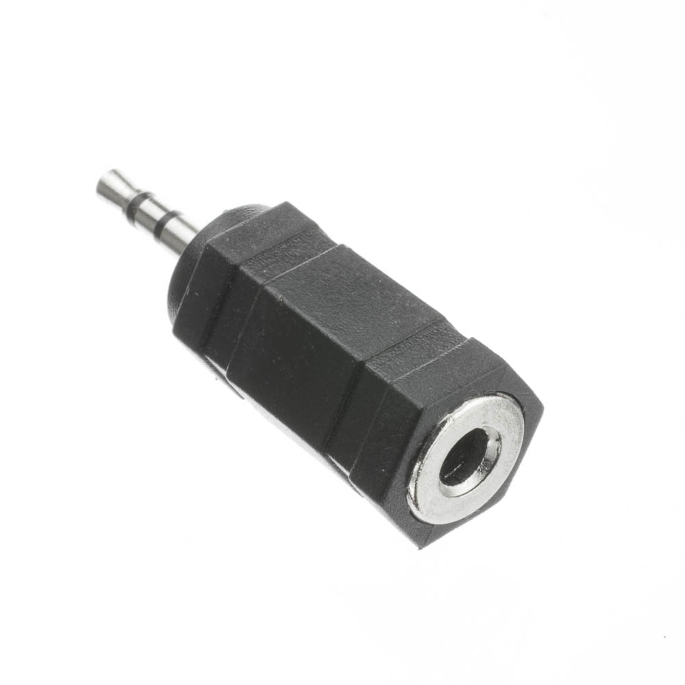 2 5mm Stereo Male To 3 5mm Stereo Female Adapter