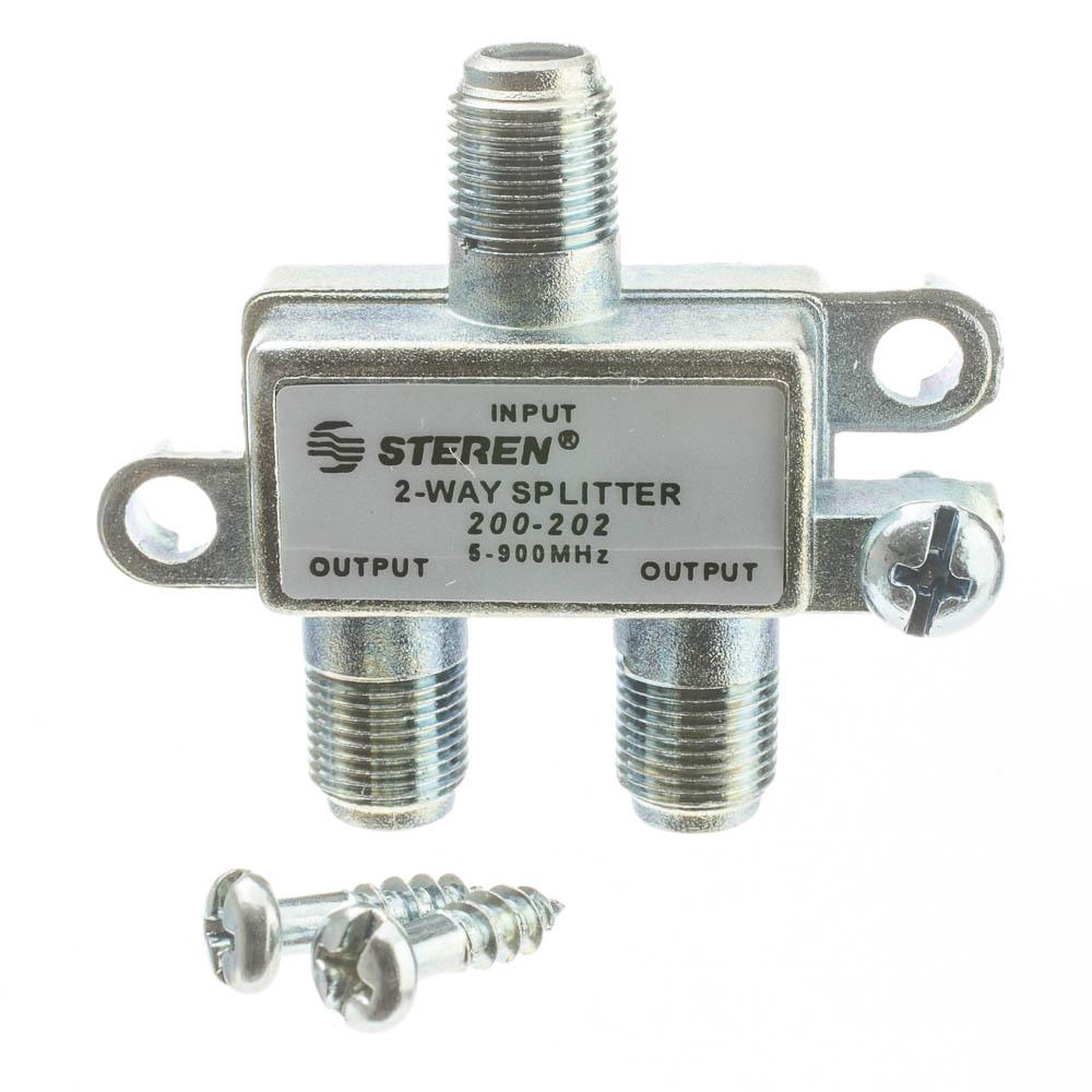 Powered Coax Splitter : Way coax splitter mhz uhf vhf fm ota broadcast tv