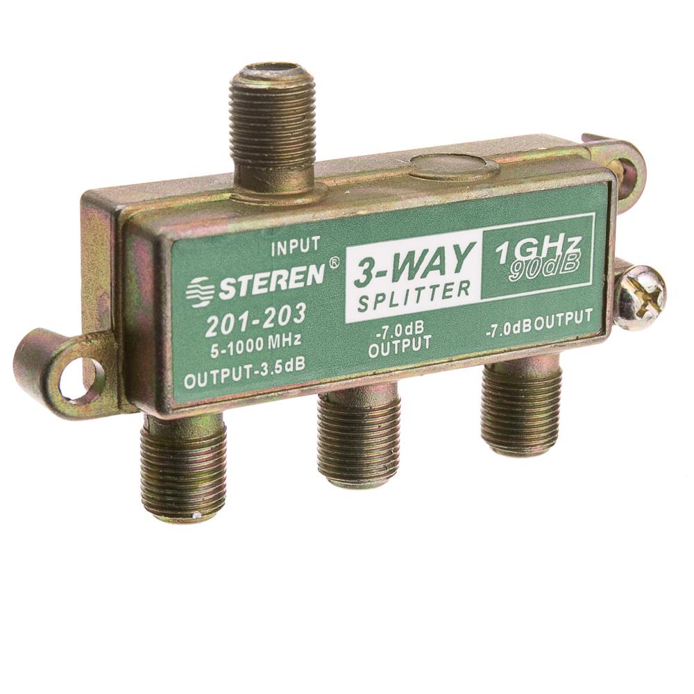 Coaxial Cable Splitter : Way coaxial splitter ghz db