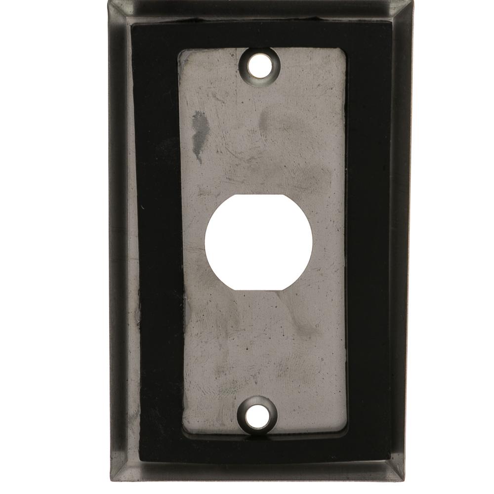 1 Port Stainless Steel Wallplate