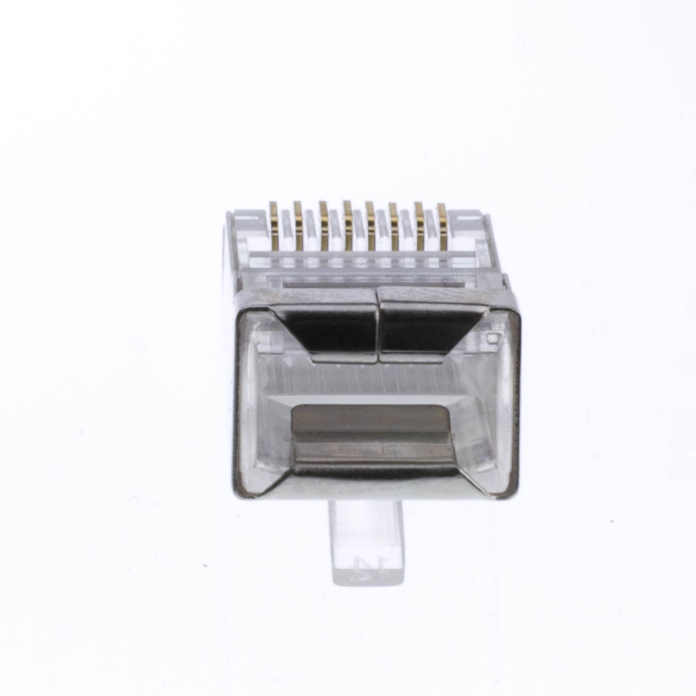 Shielded Cat5e Rj45 Crimp Connectors 50 Piece
