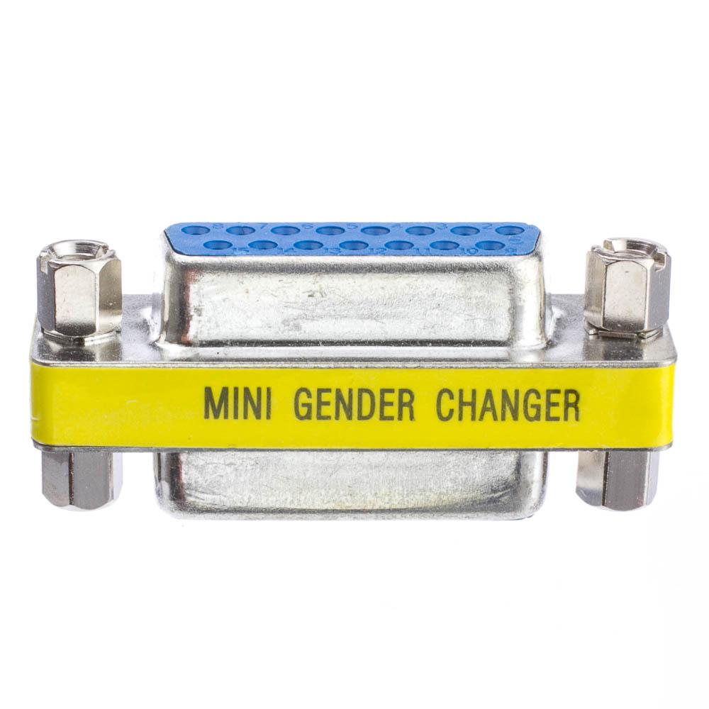 Apple Mac Mini Gender Changer Db15 Female To Db15 Female