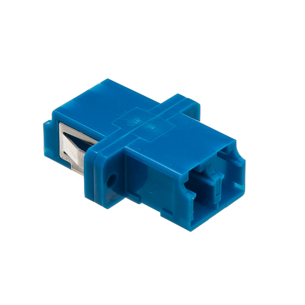 Fiber Optic Coupler Lc Lc Female Duplex Plastic Housing