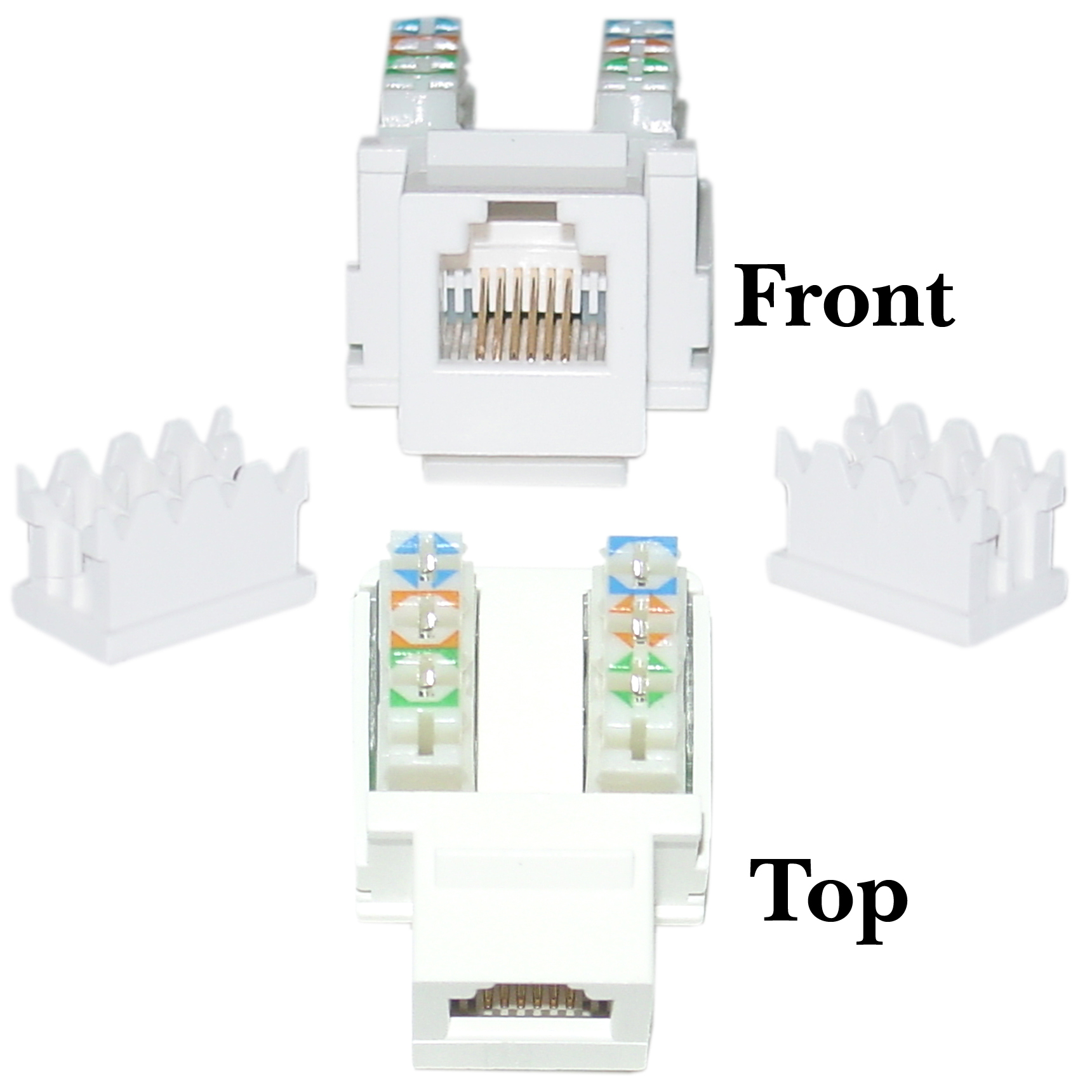 Rj11 Punch Down Diagram Simple Electrical Wiring Jack Together With Rj45 To Phone Data Keystone Rj12 Female 110 Telephone