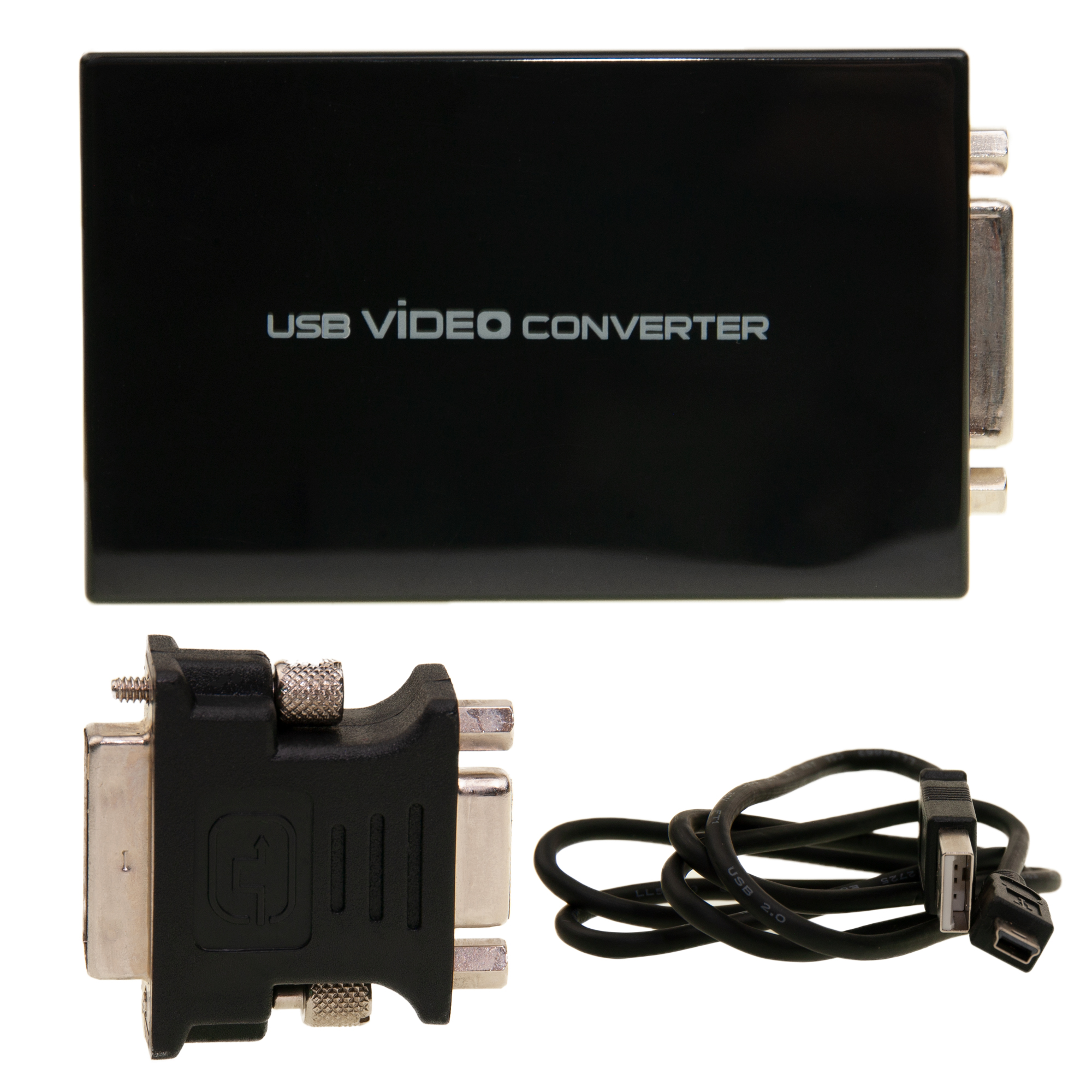 Usb To Dvi Vga Adapter Add Monitor For Windows 7 And Up