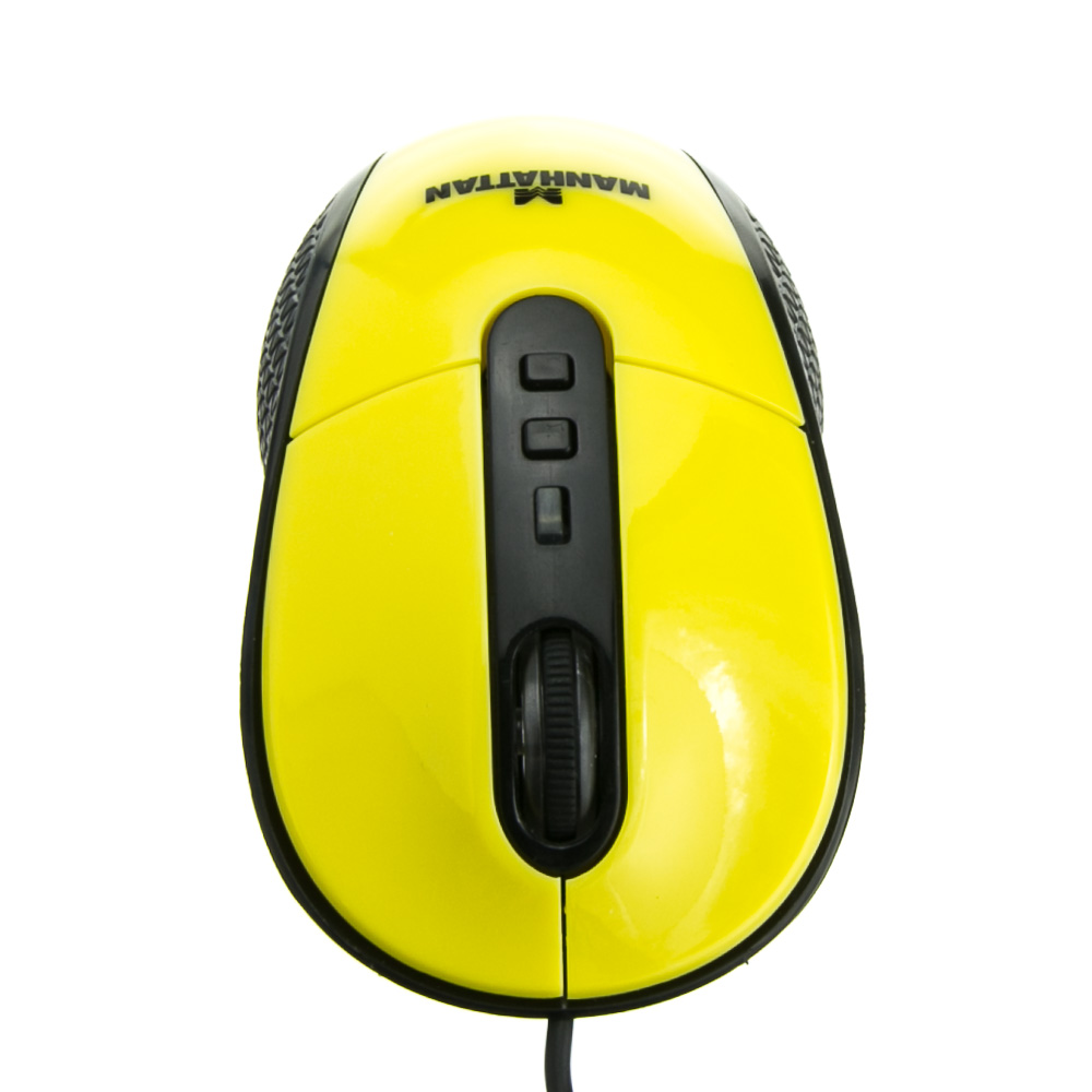 Yellow Usb Optical Mouse Laser Mouse