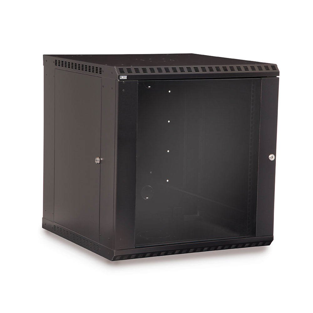 12u Rackmount Wall Mount Cabinet Fixed