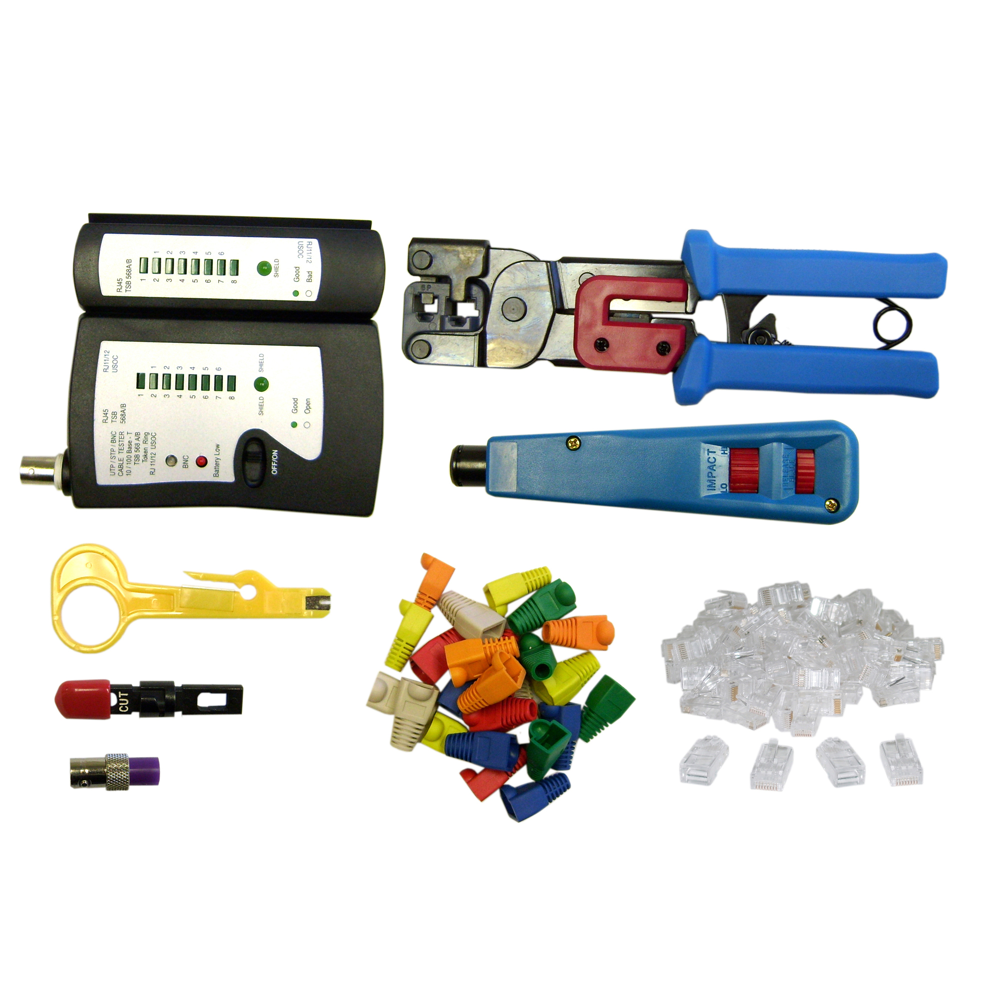 Soho network tester and tool kit 8 pieces for Canape network testing tool