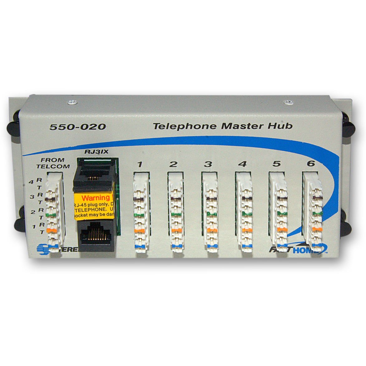 Telephone Hub Media Cabinet Module, Centralize And Simplify Telephone  Distribution   Part Number: 7550