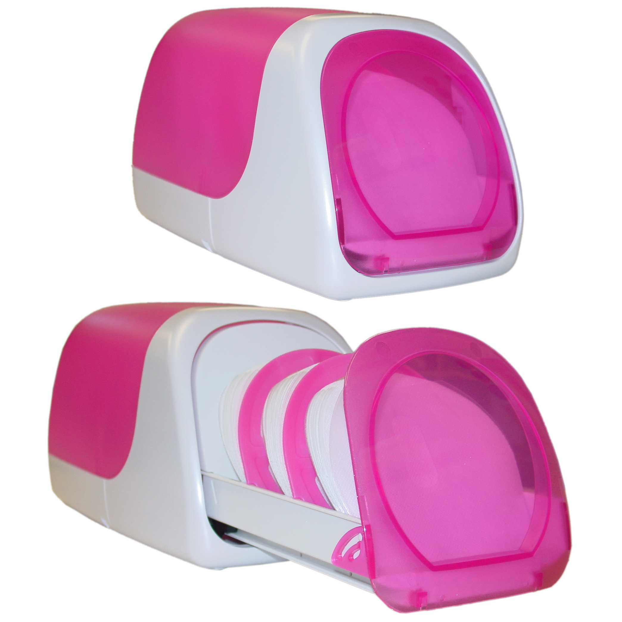 One Touch CD Storage Box (Baby Pink)   Part Number: 80CD 06000PI