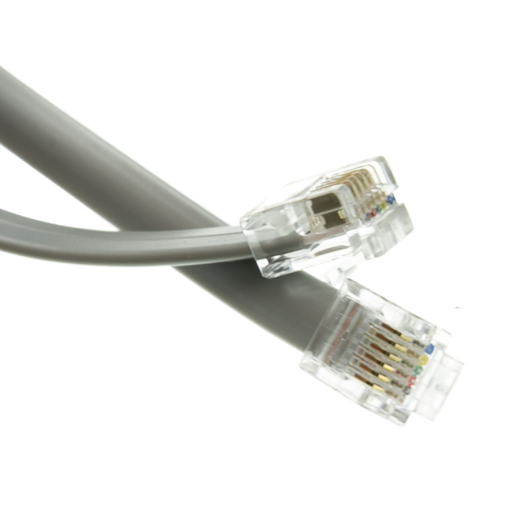 Rj12 6 Pin Phone Cable 1 Ft