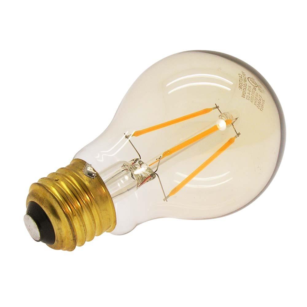 4w Led Filament Bulb Warm Color 2200k E26 Base