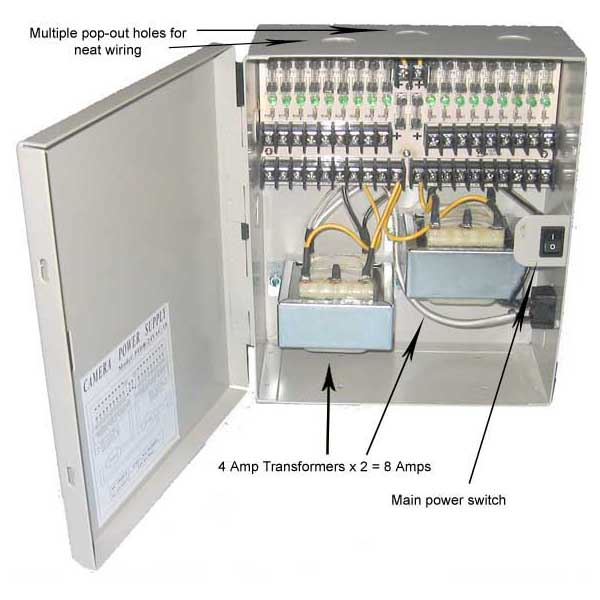 Cable Distribution Box : Port power distribution box vac as