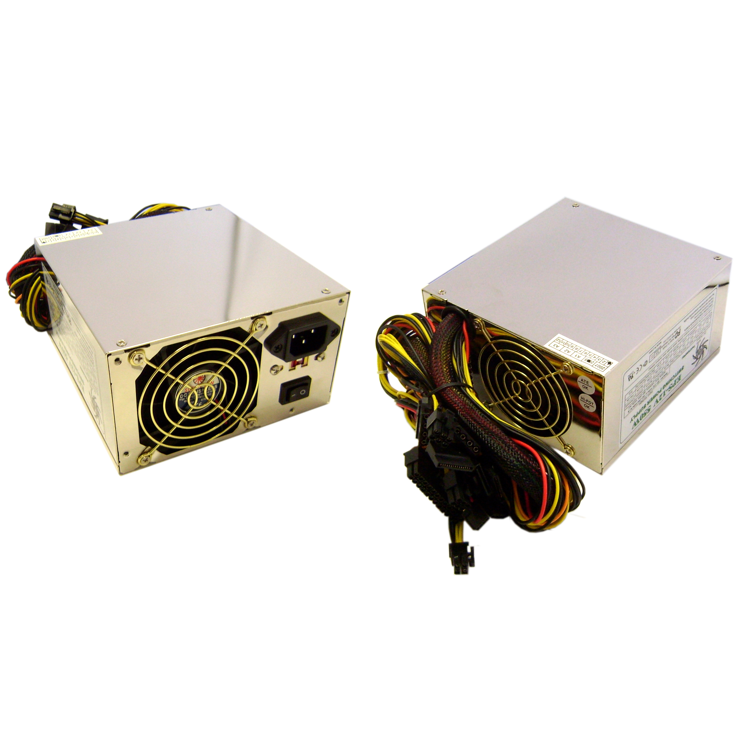 Computer/PC Power Supply Switch ATX 420 Watt, Dual Fan