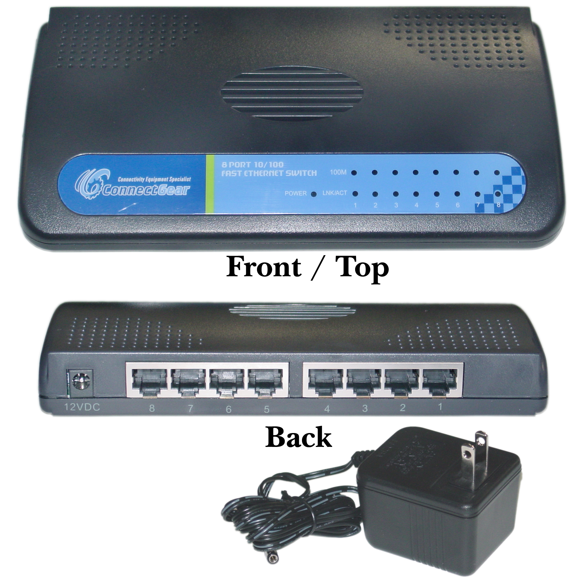 8 port fast ethernet switch 10 100 auto negotiation - 8 port fast ethernet switch ...