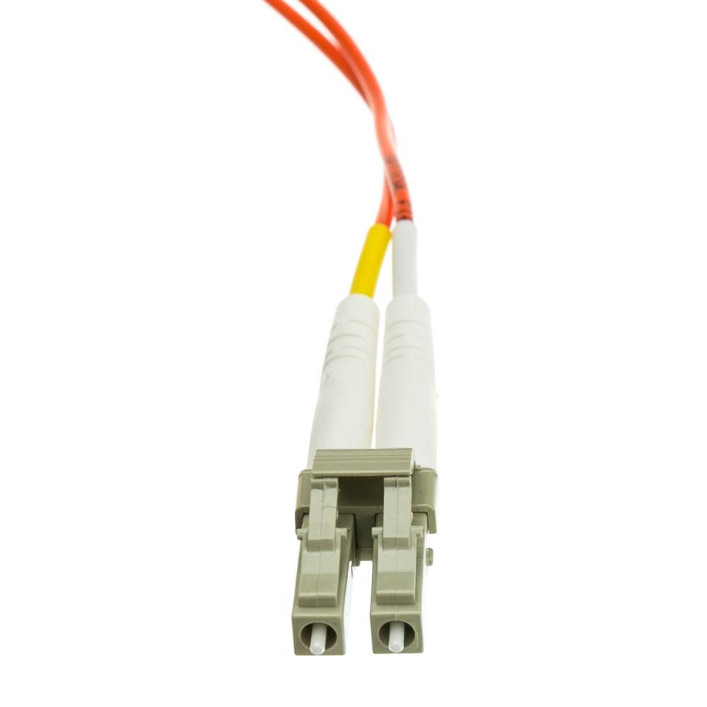 GRANDMAX Fiber Optic Cable Orange Duplex OM1 62.5//125 15 Meter Multi Mode LC//LC