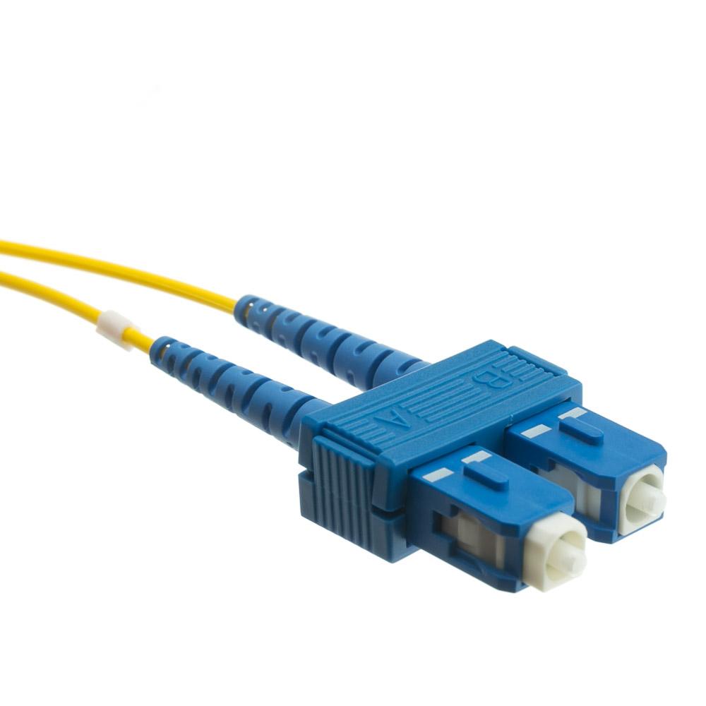 20 Meter Lc Sc Singlemode Duplex Fiber Optic Cable 9 125