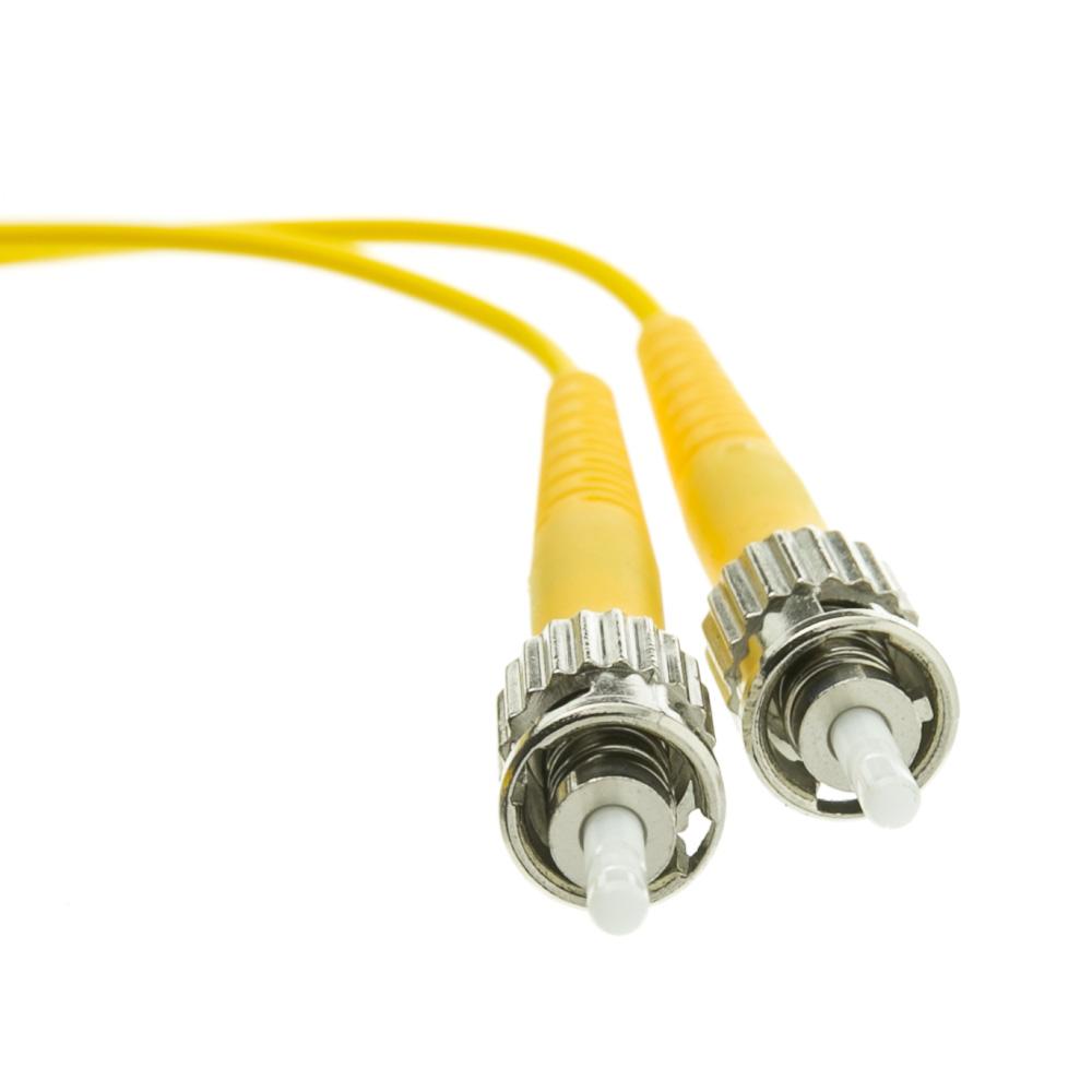 10 Meter Lc St Singlemode Duplex Fiber Optic Cable 9 125