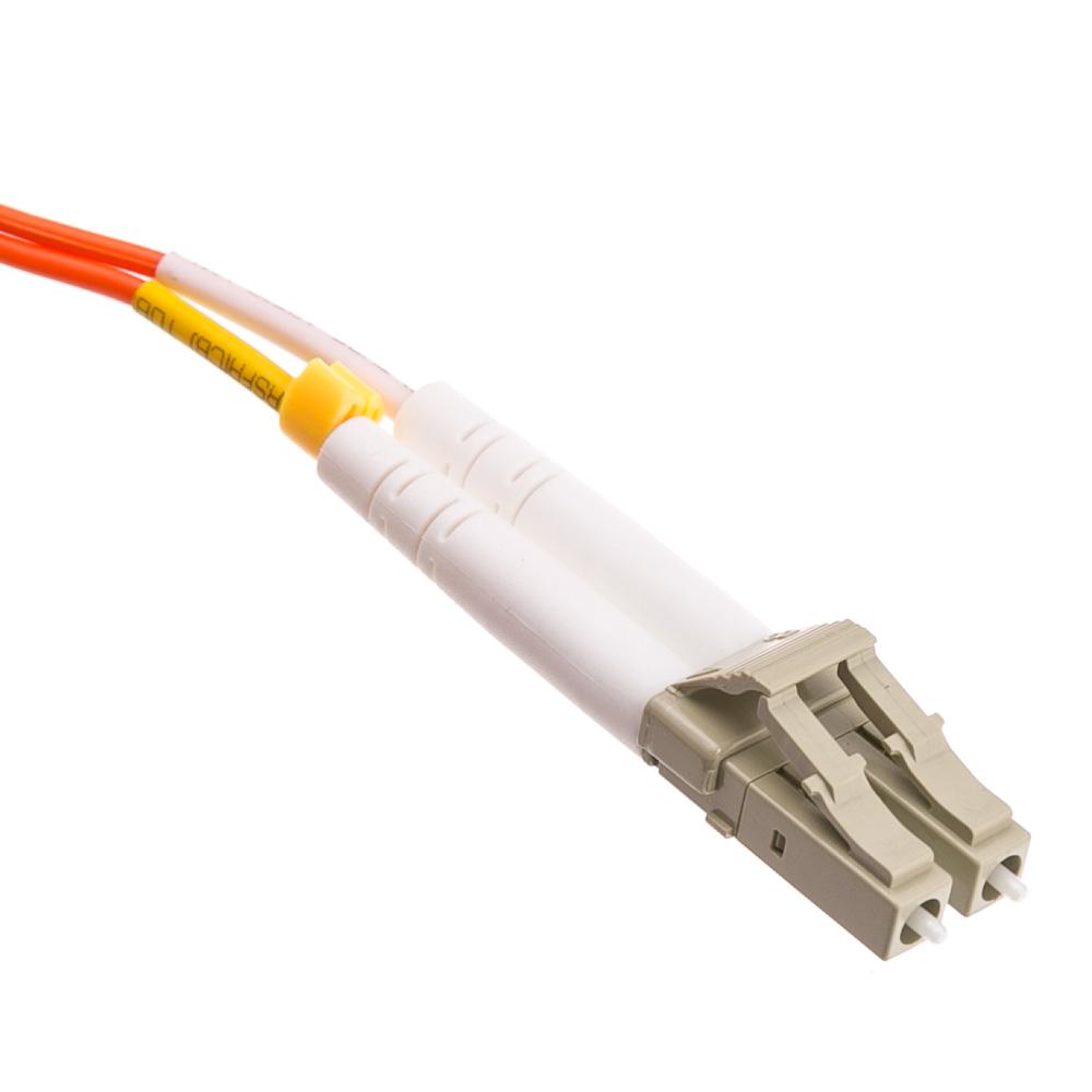 Lc St Multimode Duplex Fiber Optic Cable 50 125 5 Meter