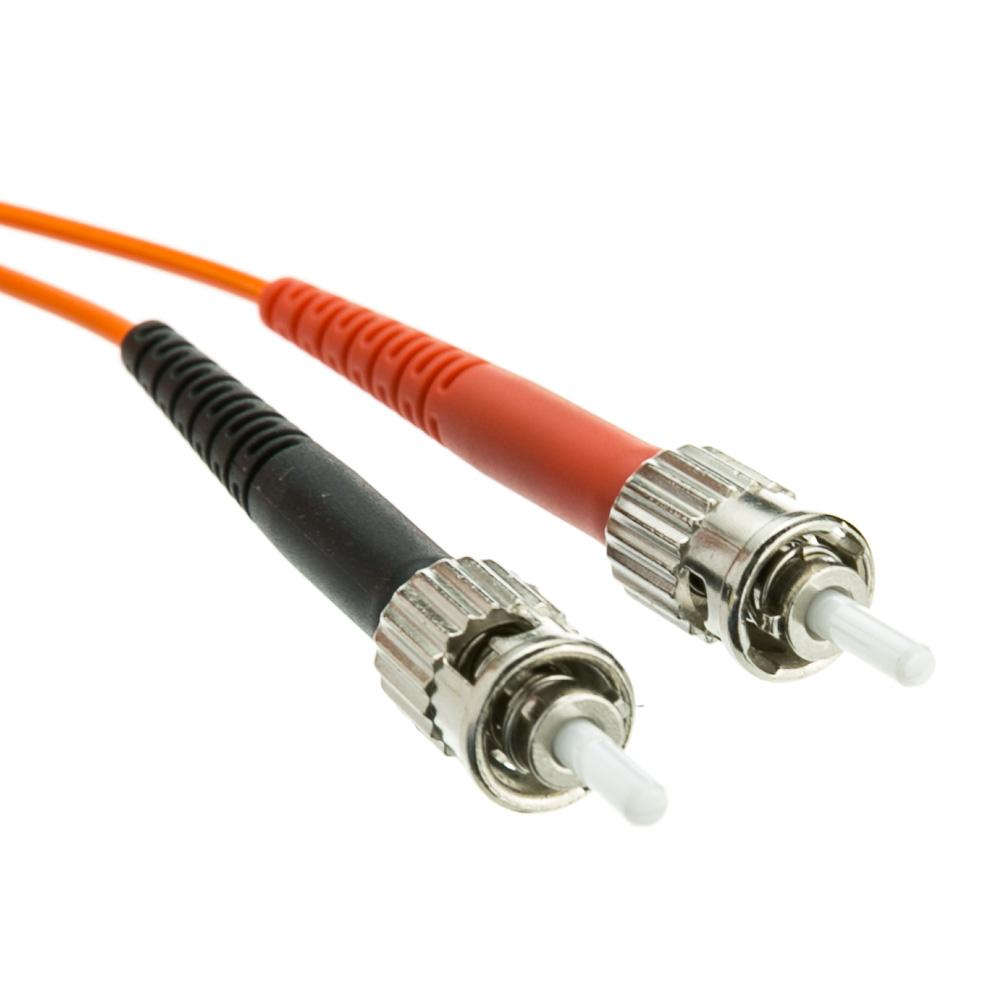 7 Meter Lc St Om1 Duplex Fiber Optic Cable 62 5 125