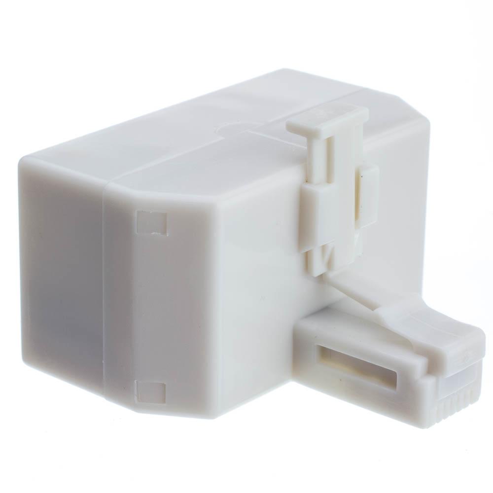 Telephone Jack Line Separator Rj11 Rj12 Male To 3 Rj11