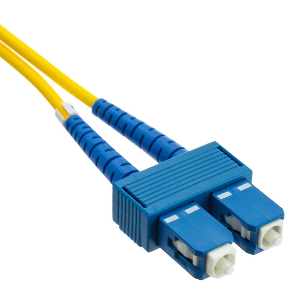 Fiber Optic Cable : Sc singlemode duplex fiber optic cable meter