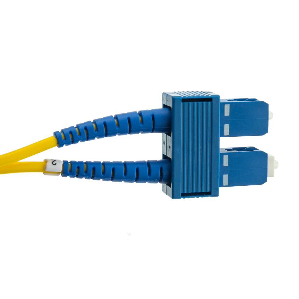 2 Meter Sc Sc Singlemode Duplex Fiber Optic Cable 9 125