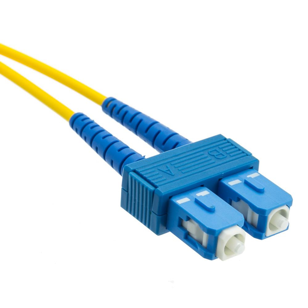 sc st singlemode duplex fiber optic cable 9 125 10 meter. Black Bedroom Furniture Sets. Home Design Ideas