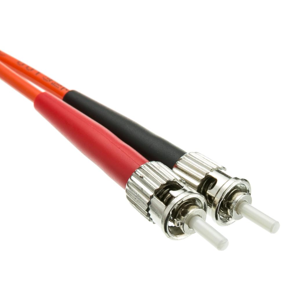 8 Meter Sc St Om1 Duplex Fiber Optic Cable 62 5 125